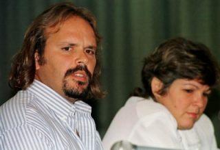 Camilo y Aleida Guevara, dos de los hijos del Che.