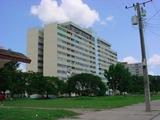 Este el edificio 12 plantas número uno, construido en el año 1977 en el reparto Julio Antonio mella.